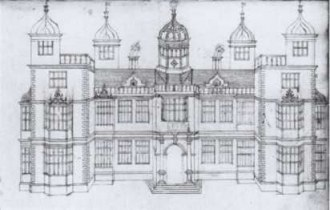Fig-13_Front_elevation_Noseley_Leics_by_John_Thorpe_early_17thc