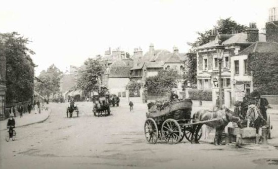 Old Town in the 1890s.