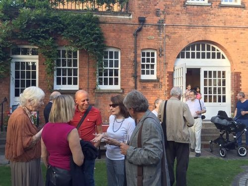 Party in the garden 4 July 2017,
