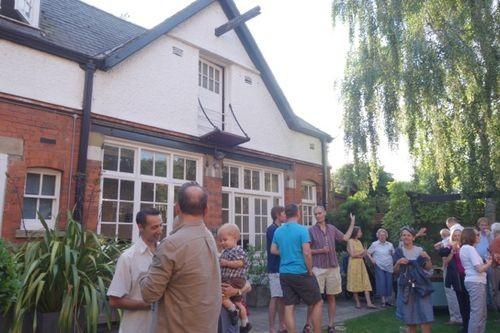 Party in garden 4 July 2017