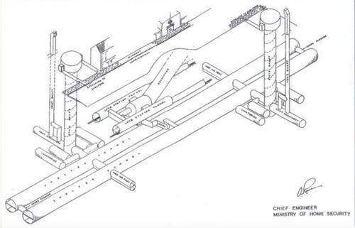Plan of a Deep Shelter