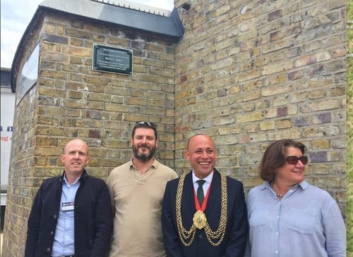 Unveiling of the Green Plaque on 15 June 2018.