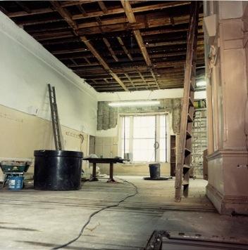 Interior of main room in 1988,