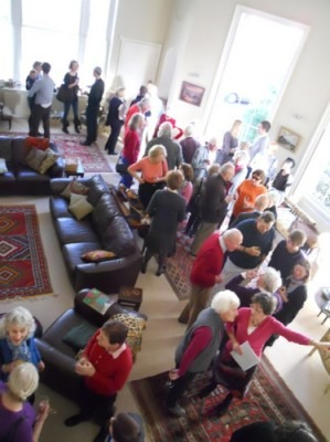 The party in Eagle House