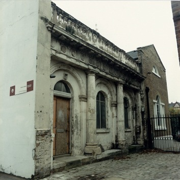 Front elevation in 1988,