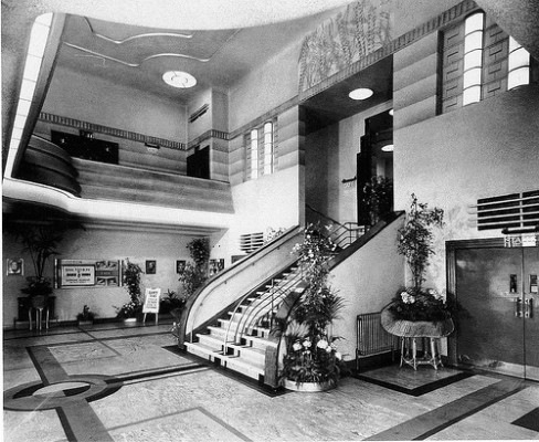 The foyer, 1938