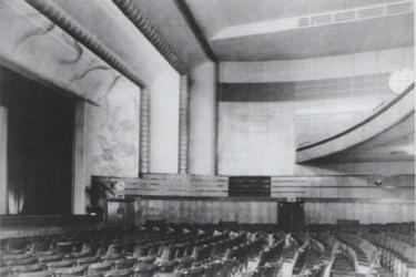 The auditorium, 1938