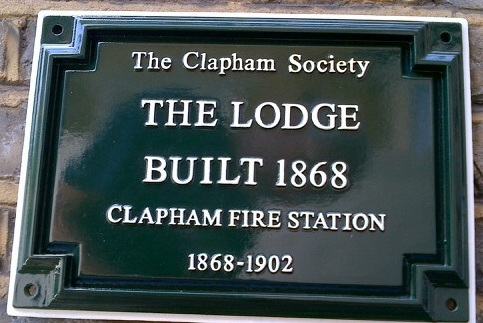 The Society's Green Plaque