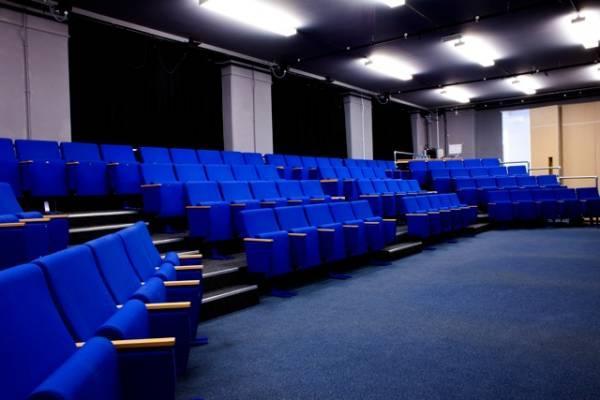 The Studio Theatre at the new Omnibus arts centre in 2014