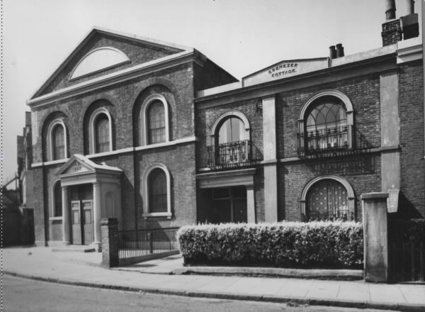Oddfellows Hall and Ebenezer Cottage c. 1970