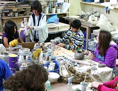 The Pottery in action,