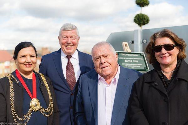 The Mayor of Lambeth, Saleha Jaffer, Rt. Hon. Alan Johnson, MP