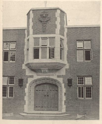 Main entrance to UPW HQ photograph