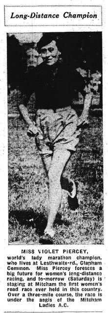 Violet Piercy 1934