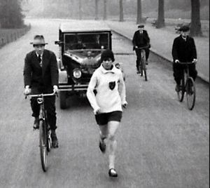 Violet Piercy Marathon runner