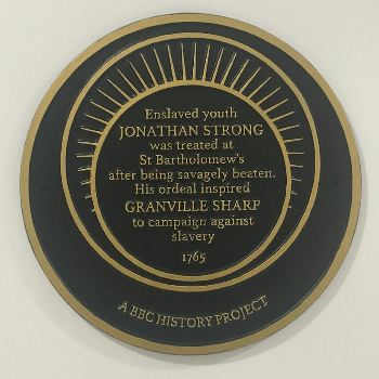 Strong Plaque at St Barts