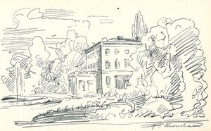 Fairlawn, Sketch by Kronstrand