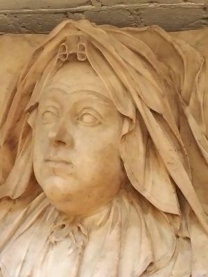 Effigy of Dame Rebecca Atkins