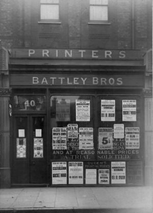 Battley Brothers 1910