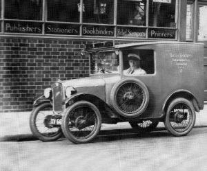 Battley Brothers delivery van, 1926