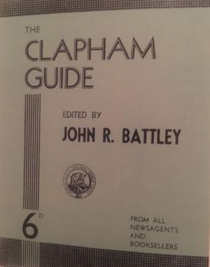 Clapham Guide, 1935