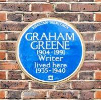 The blue plaque (detail)