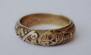 17th century mourning ring
