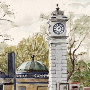 Clapham Clocktower