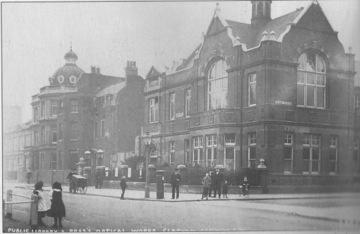 Clapham Library circa 1900