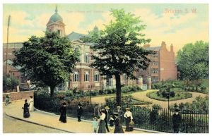 Brixton Library and Gardens